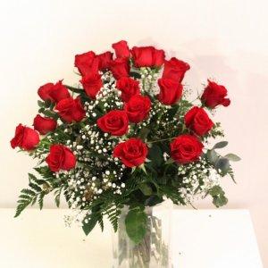 Ramo 24 rosas intensidad