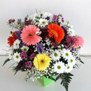 Jarrón flores silvestres
