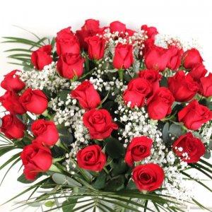 Ramo 36 rosas rojas