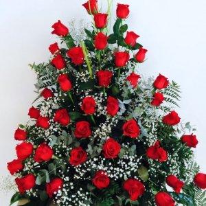 Centro de 36 rosas