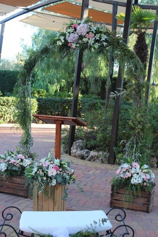 Flores para ceremonia civil 2