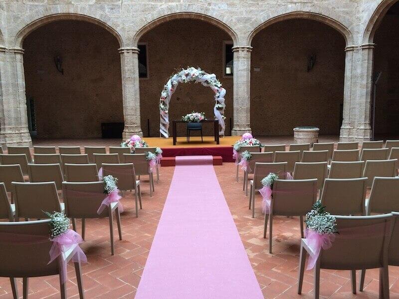 Flores para ceremonia civil 6