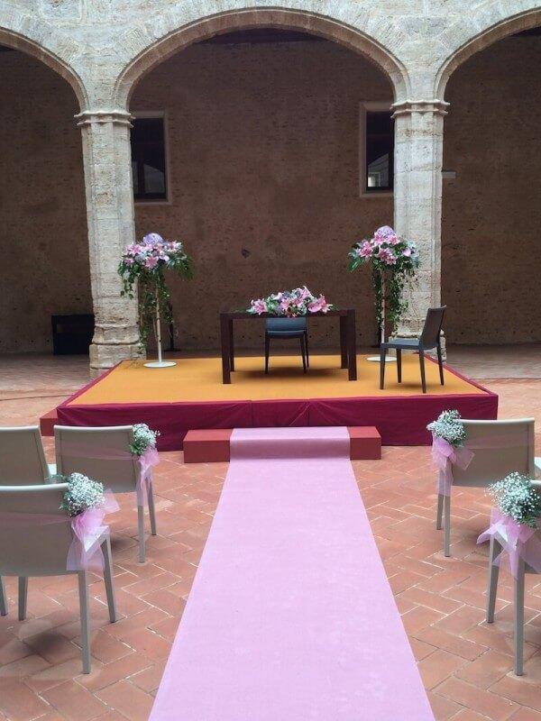 Flores para ceremonia civil 8