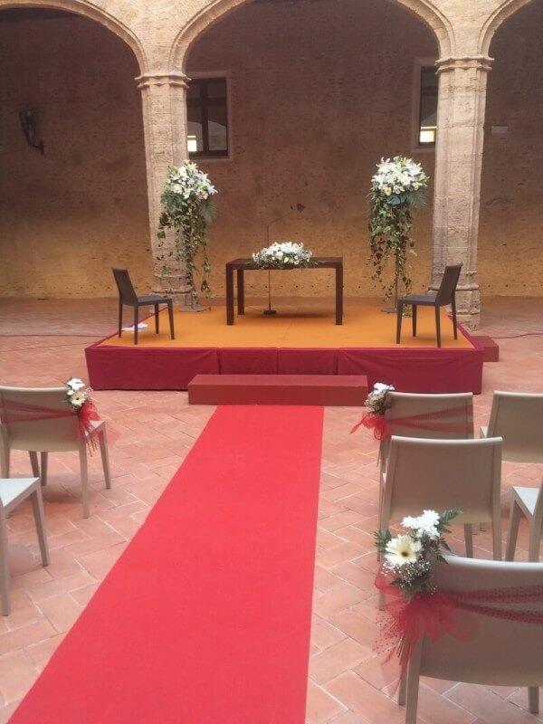 Flores para ceremonia civil 14