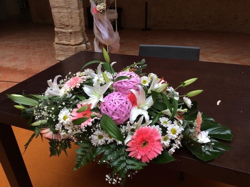 Flores para ceremonia civil 9
