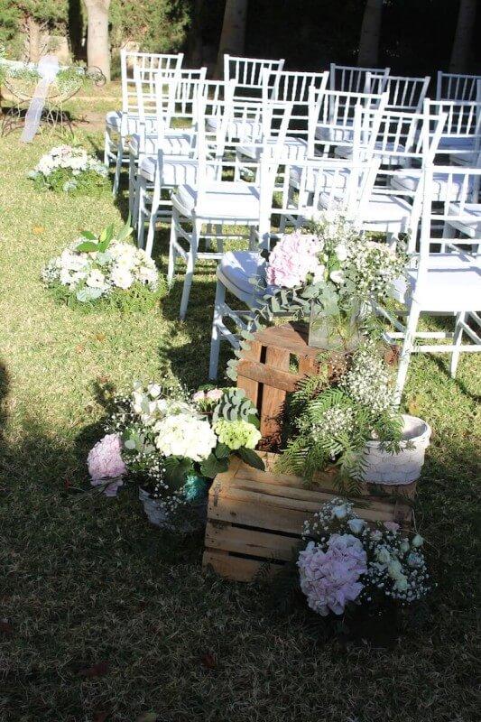 Decoración de ceremonia civil