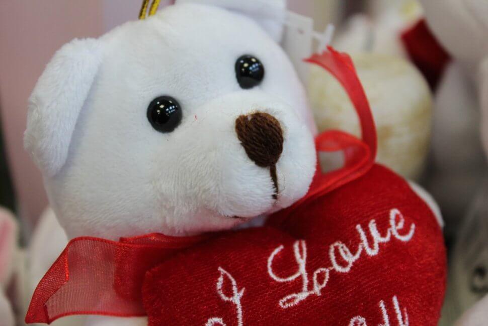osito de peluche para regalar en San Valentín