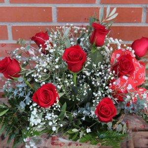Capazo rosas