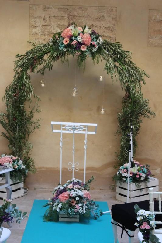 Flores para ceremonia civil 21