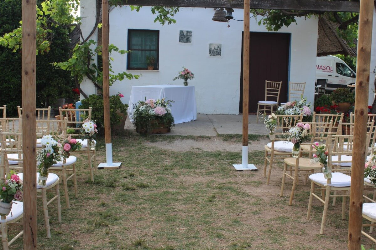 Flores para ceremonia civil 19