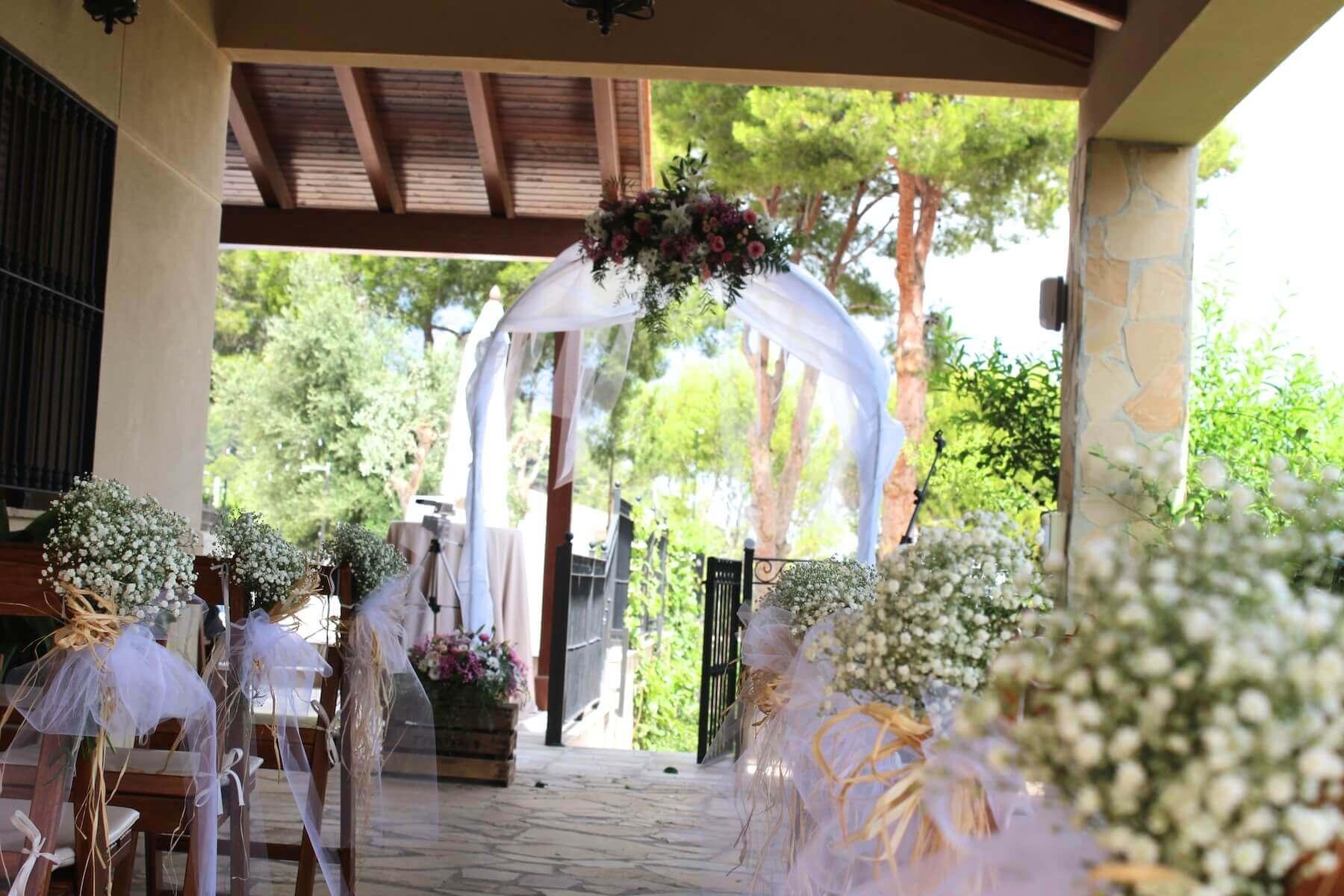 Flores para ceremonia civil 20
