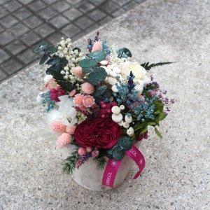 Centro flor preservada dulce