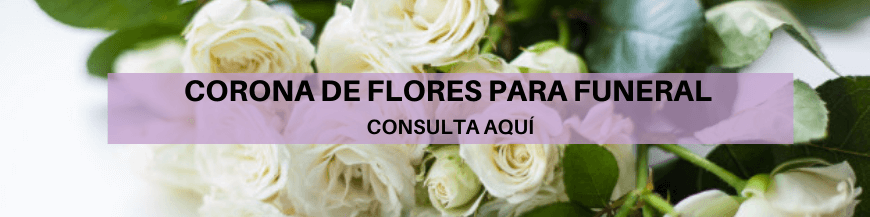 corona de flores para funerales