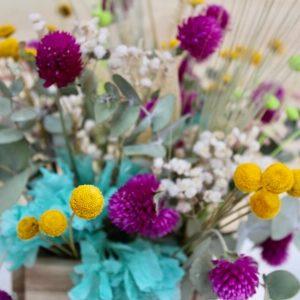 centro flor seca silvestre