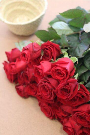 Regalar flores San Valentín
