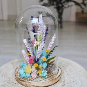 Jardín de flores secas pequeño