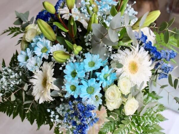 ramo silvestre de flores azul en Torrent