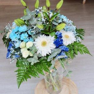 ramo silvestre de flores azul en Alaquàs